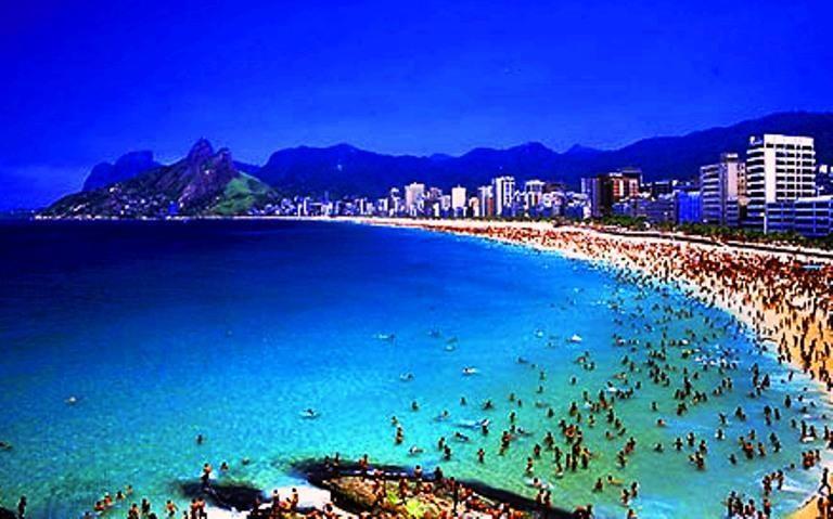 Ipanema Rio De Janeiro Beach Time