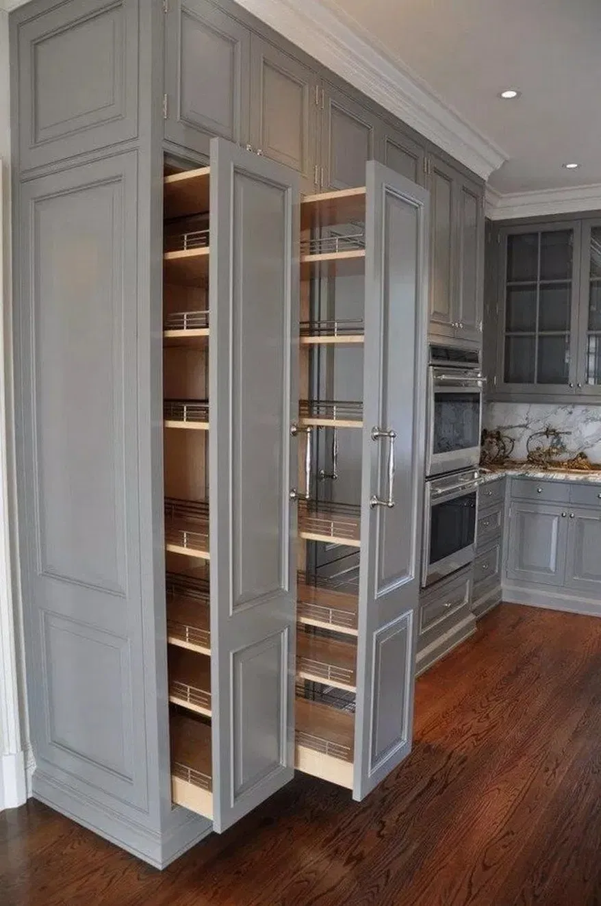 13 Brilliant Kitchens Design Ideas And Remodel 7 Kitchen Cabinet Design Kitchen Furniture Storage Kitchen Remodel Small
