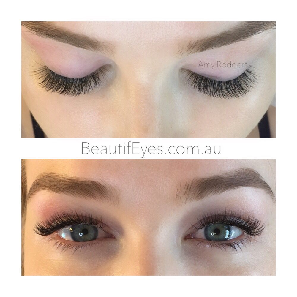 4cf9df4181c 2d Russian Volume eyelash extensions | makeup in 2019 | Eyelash ...
