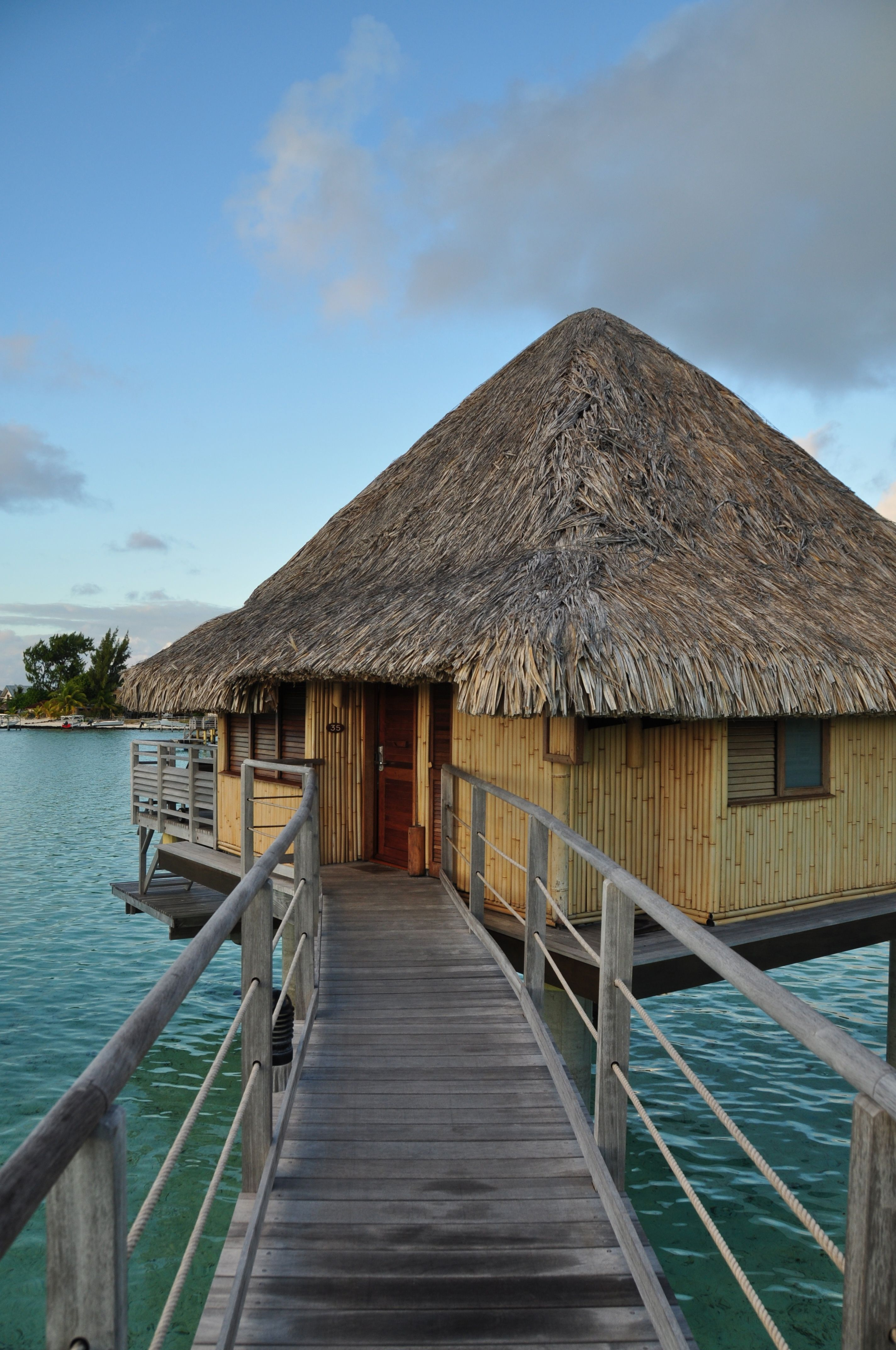 My Home For Several Days Bora Bora French Polynesian Islands