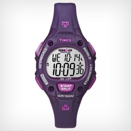 "Timex IRONMAN® 30-Lap or other simple, waterproof sport watch - would be extra nice if it had an ""interval timer"""