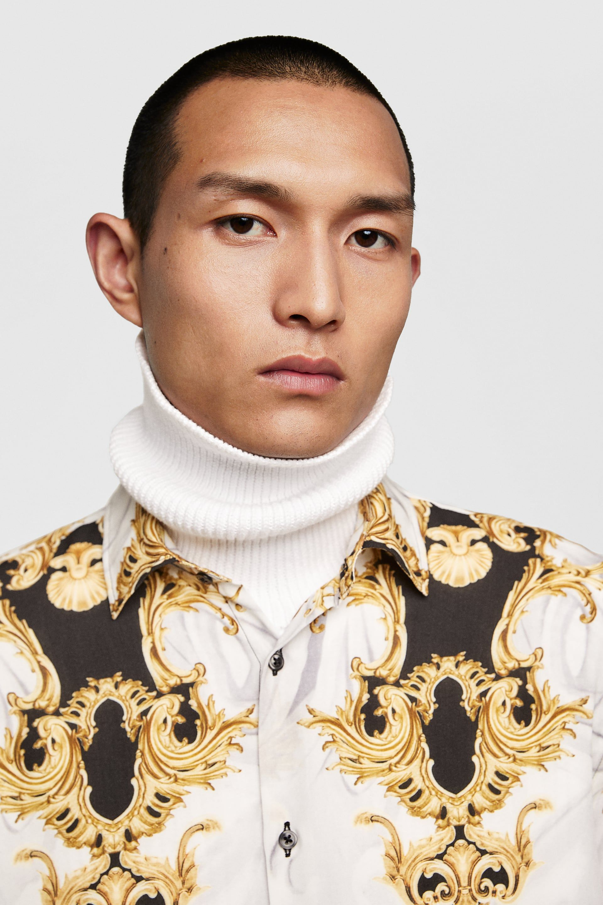 7c5ad2afb91e Image 4 of BAROQUE SHIRT from Zara | Zara in 2019 | Shirts, Baroque ...