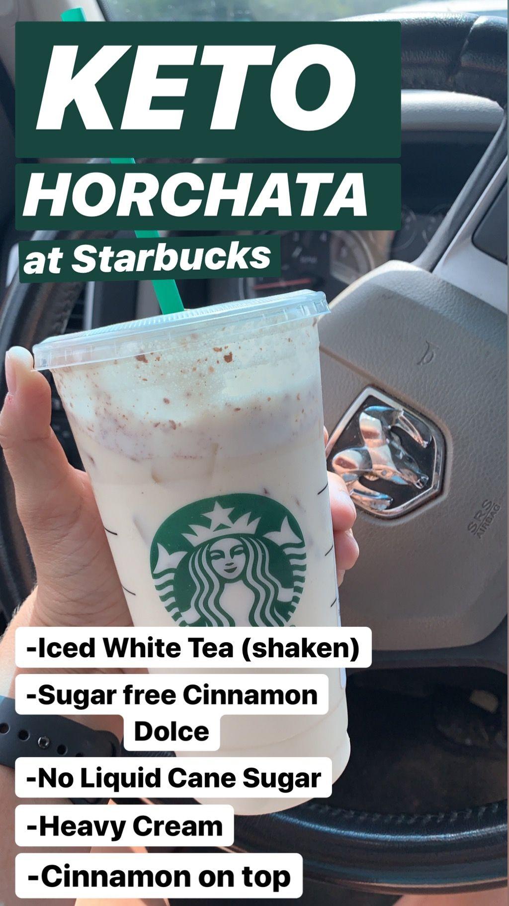 Keto Starbucks Horchata