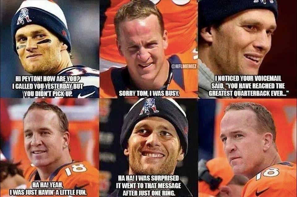 peyton manning vs tom brady meme generator Tom Brady vs