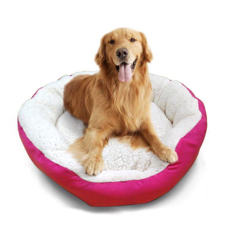 Pet Dog Bed Warming Dog House Velvet Pet Nest Dog Fall And Winter