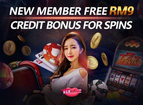 Claim 918KISS slots game free credit with 9KING Online Casino Malaysia, free RM9 bonus…