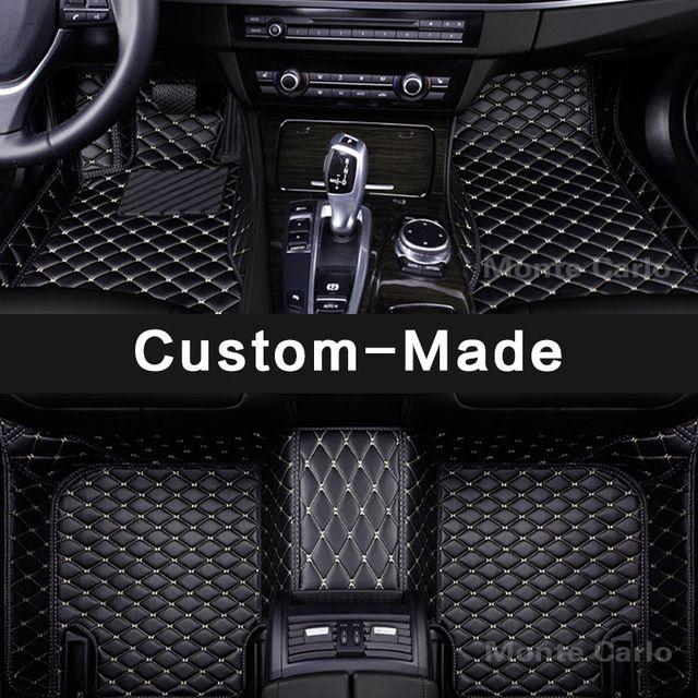 Custom Made Car Floor Mats For Bmw 6 Series E63 E64 F06 F12 F13 7 E65 E66 F01 F02 G11 G12 All Weather Carpet Rug Liner