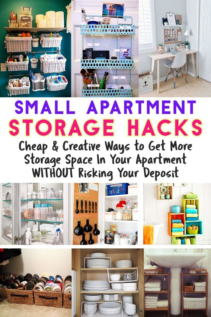 Apartment organization hacks clever storage ideas for
