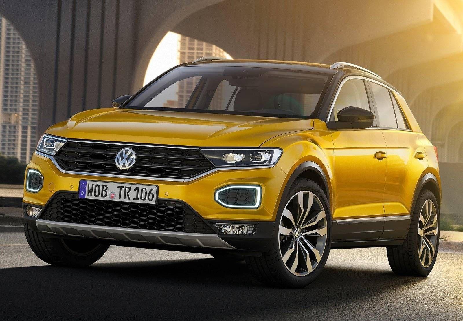 Volkswagen T Roc O Suv Compacto Que A Vw Fara No Brasil Quatro