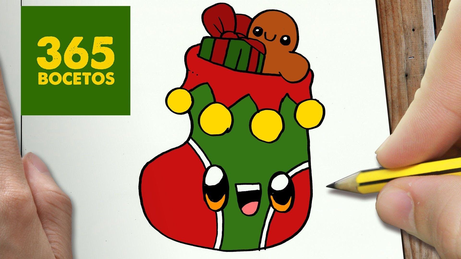 Miifotos Navidad Kawaii 365 Bocetos Christmas Wwwmiifotoscom