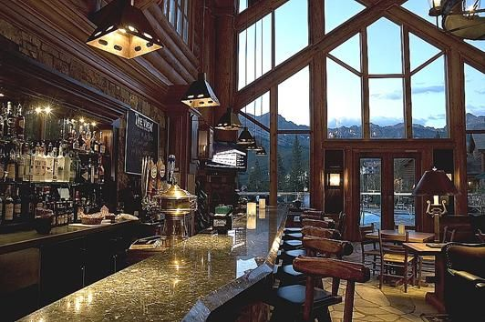 The View Restaurant Bar Mountain Lodge At Telluride Colorado