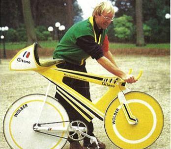 Laurent Fignon's Gitane pursuit bike designed to beat the ...