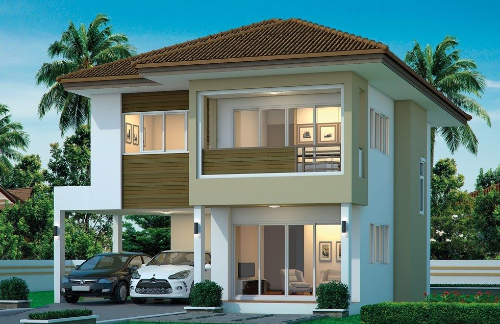 House Design Plan 9x11 5m With 4 Bedrooms Home Design With Plansearch Home Design Plans Duplex House Design House Design