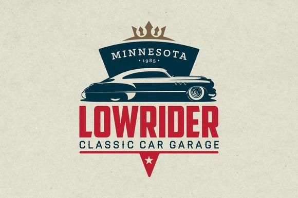 Classic Car Garage Logo Garage Logo Classic Car Garage Car Logo Design