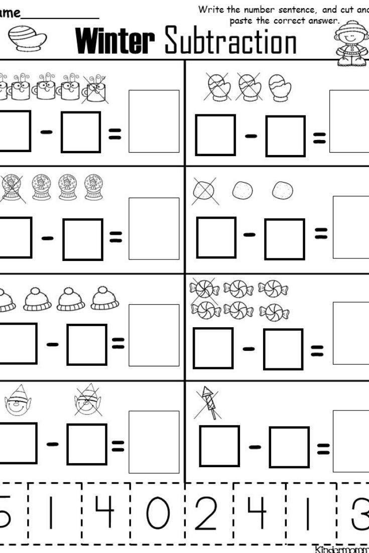 Free Kindergarten Addition And Subtraction Worksheets Kindergarten Addition Worksheets Subtraction Worksheets Kindergarten Subtraction Worksheets