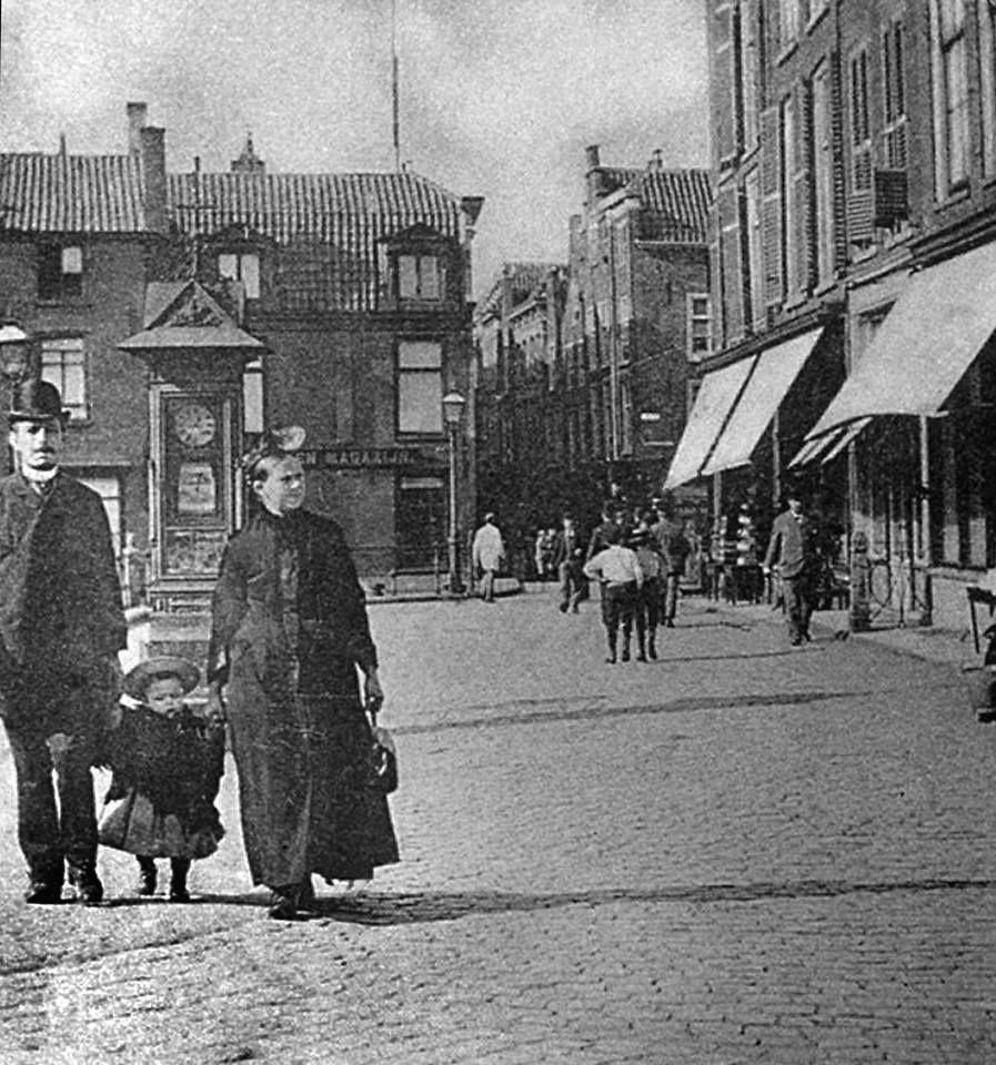 Hoogstraat (begin 20ᵉ eeuw).