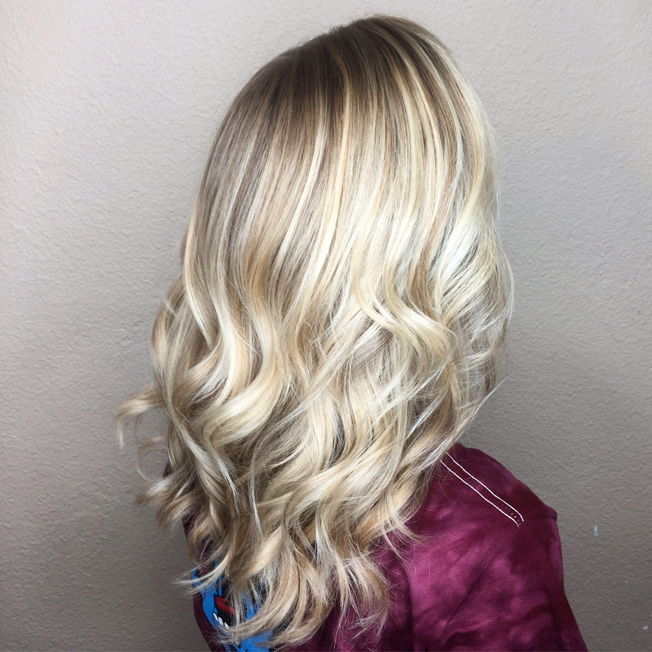 Balayage Hair Highlights Hand Painted Ig Bridalhairbysierra