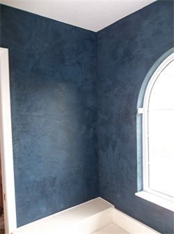 Blue Venetian Dark Blue Walls Apartment Bedroom Decor