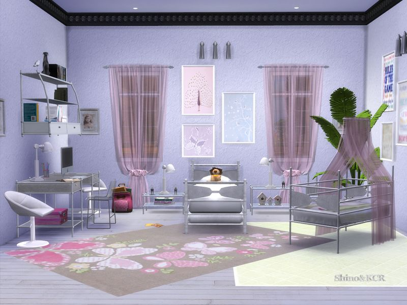 17 Idees De Chambre Enfant Sims 4 Sims Chambre Enfant Enfant