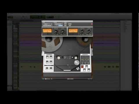 Ampex Atr 102 Mastering Tape Recorder Plug In Trailer For Uad 2 Tape Recorder Records Tape