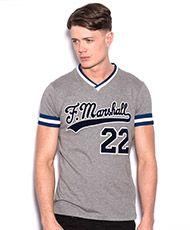 FRANKLIN & MARSHALL Baseball T-Shirt