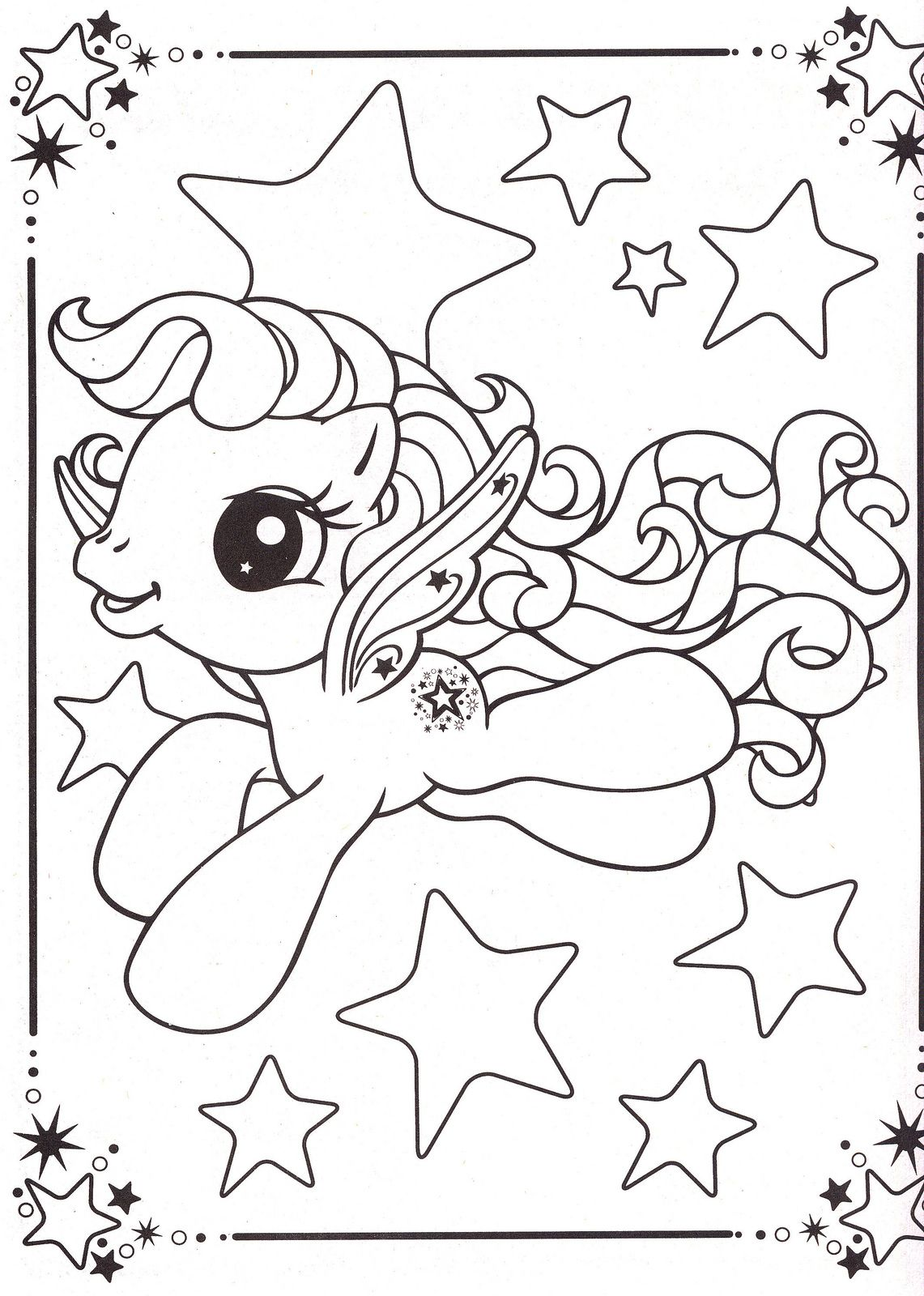 My Little Pony Coloring Pages 34 Dessins Garderie Pinterest
