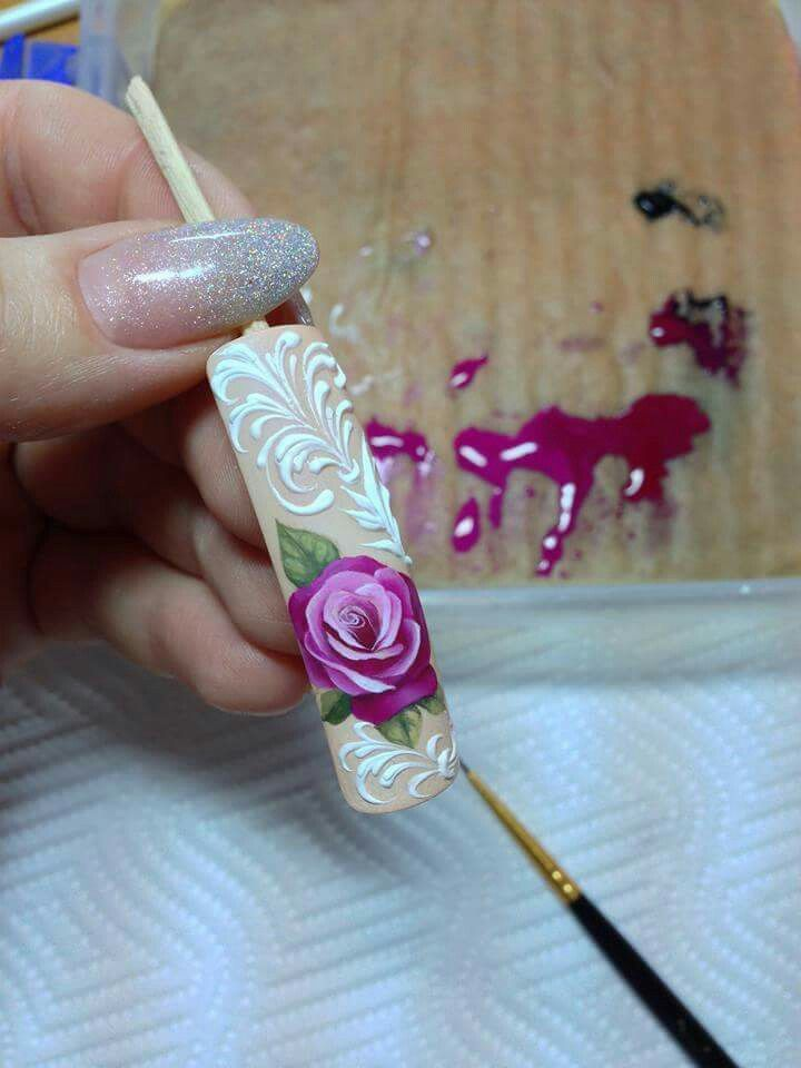 Pin by dee carritti on nail designs pinterest vintage nail art vintage nail art 3d acrylic nails perfect nails flower nail art decorative paintings nail arts nail designs nail nail tatoo prinsesfo Choice Image