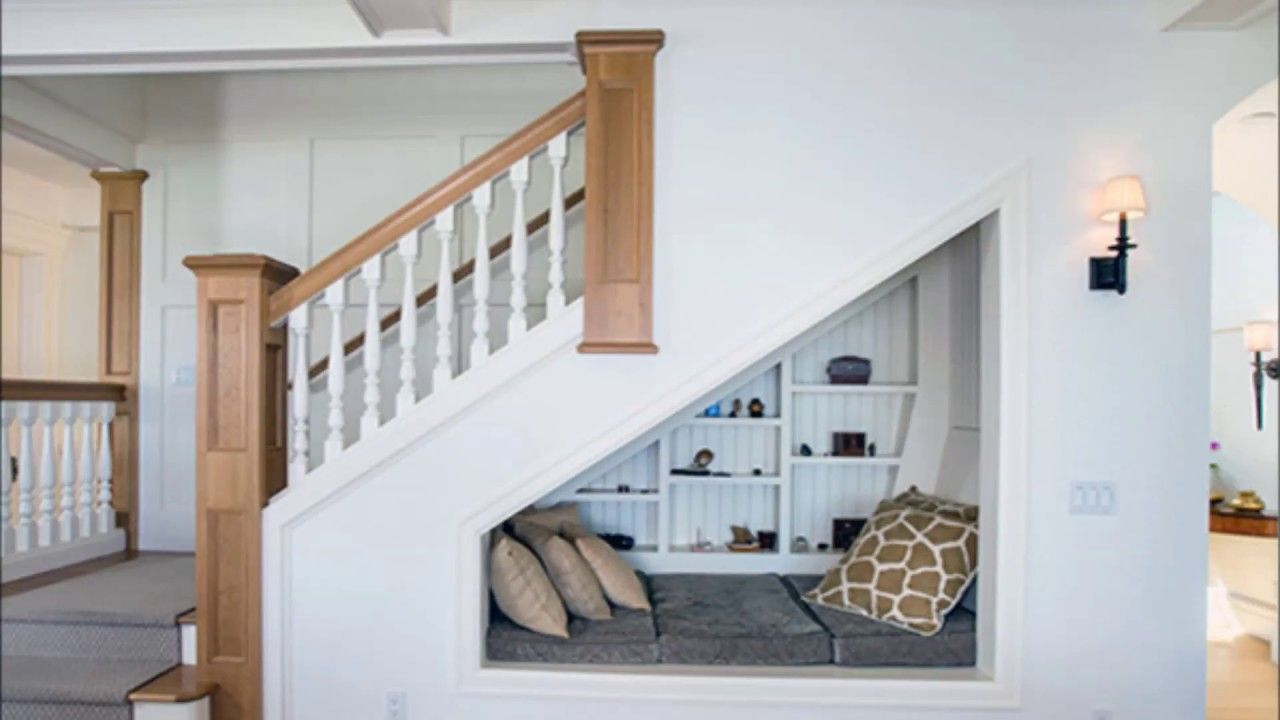 Interior design ideas under stairs