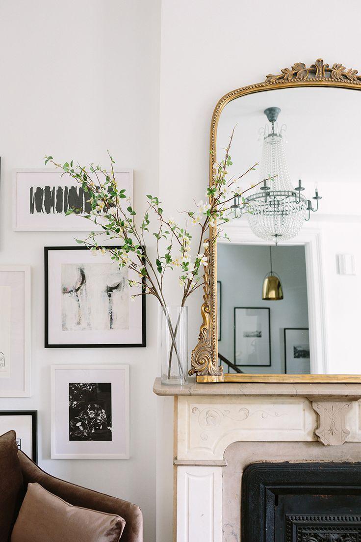 Chic and trendy white interiors  -