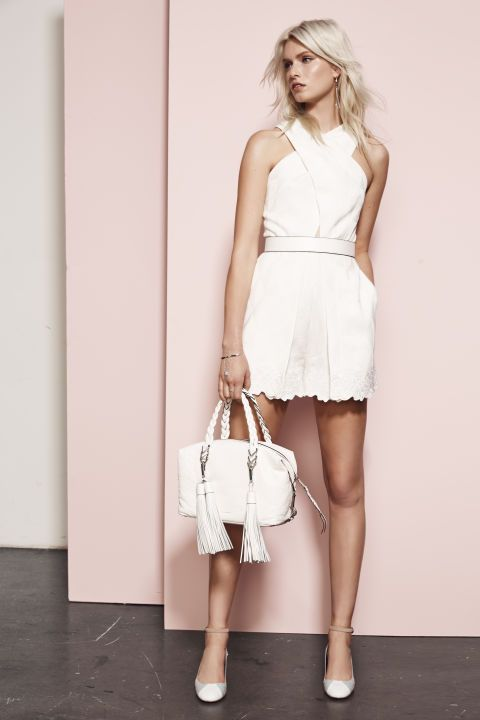 Rebecca Minkoff. See all the best looks from Resort 2016.  #fashion#glamour#dress