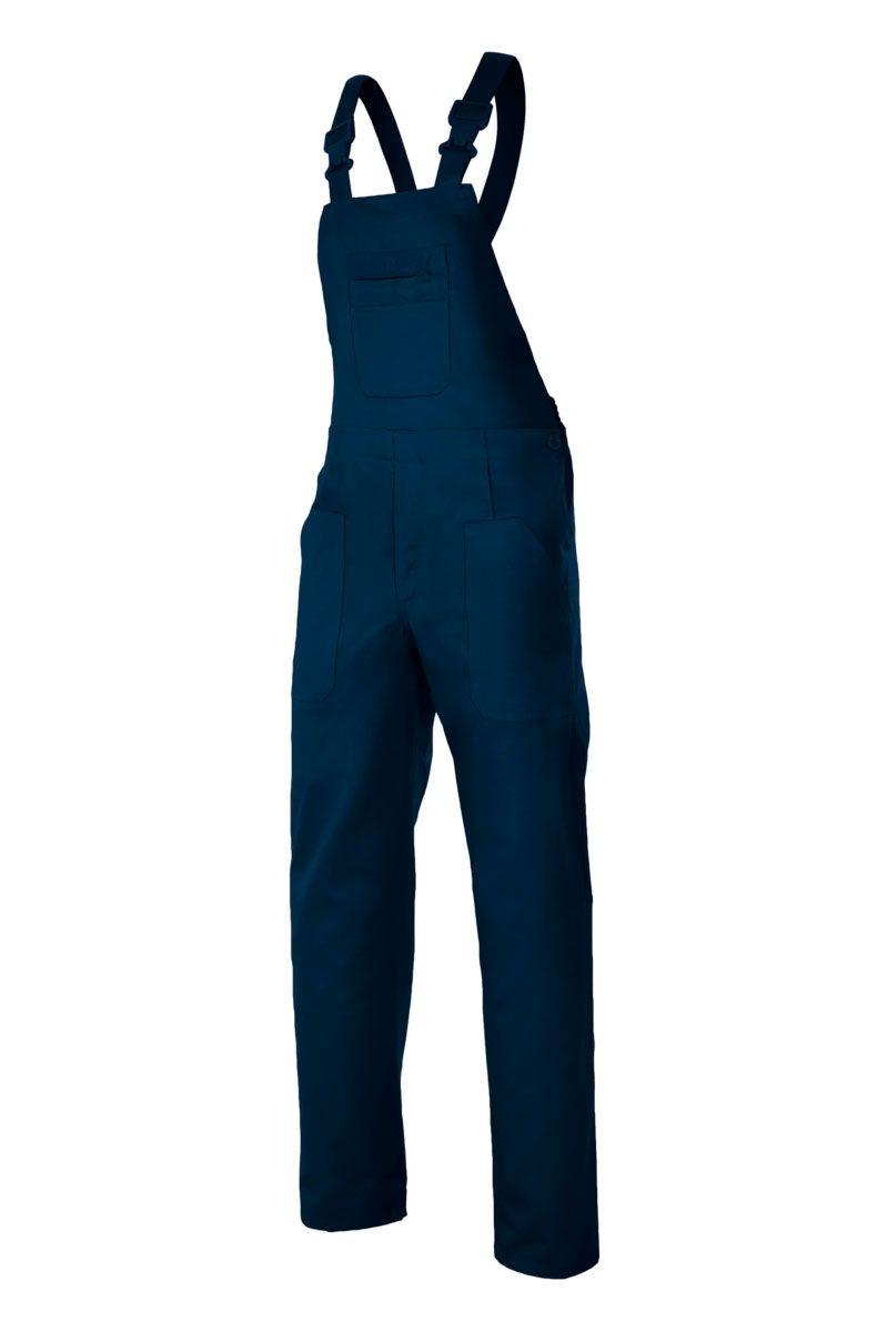 El Pantalon Con Peto De Velilla 290 Dispone De De Hebillas De Pvc En Los Tirantes Y Tiene Cinco Bolsillos De Pa Pantalones Con Peto Petos Uniformes De Trabajo