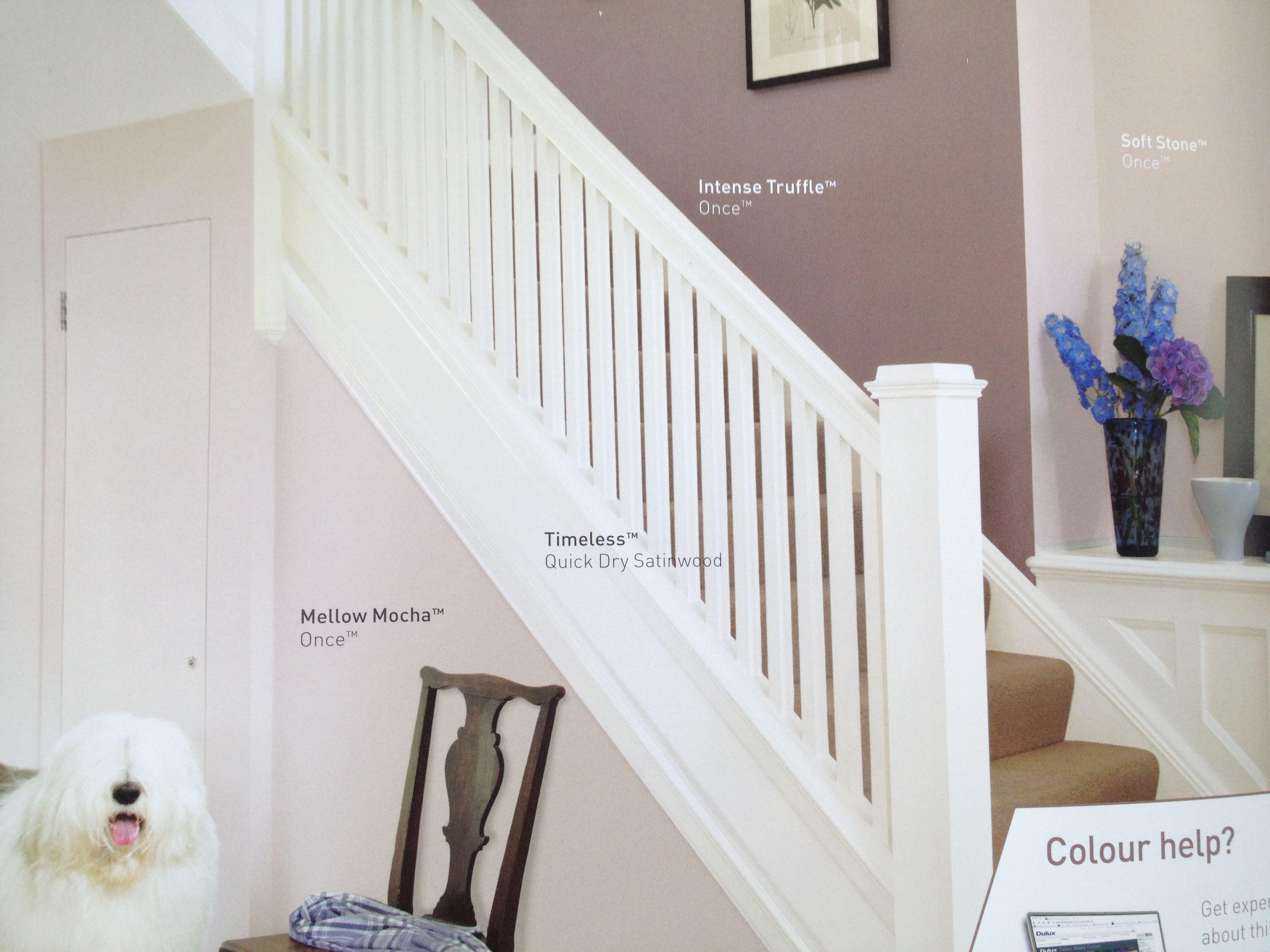 Hallway colours home designs pinterest hallway for Hallway colour ideas