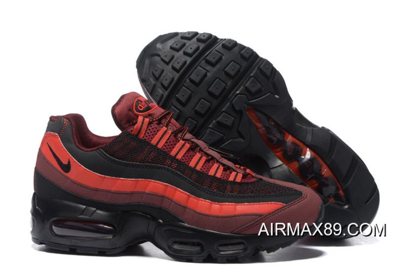 Hot Sale Nike Air Max 95 Sneakerboot Sports Shoes Running Shoes All Black