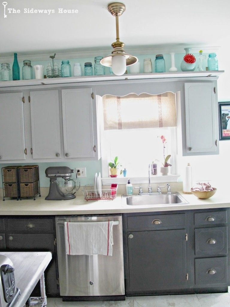Get Inspired Miss Mustard Seeds Milk Paint Kitchen Cabinets Old Kitchen Cabinets Painting Kitchen Cabinets White