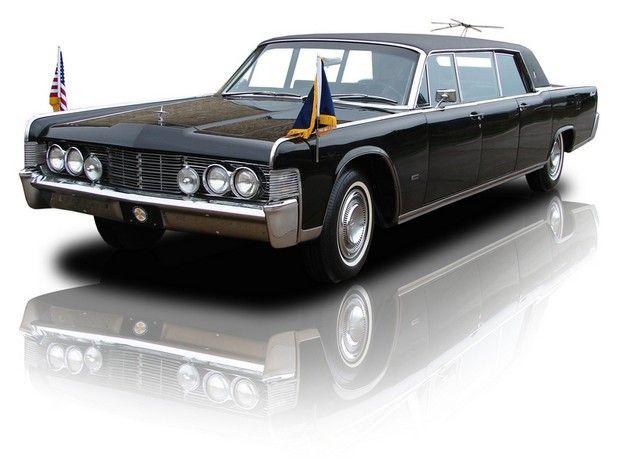 1965 Robert McNamaras Lincoln Continental Executive Limousine