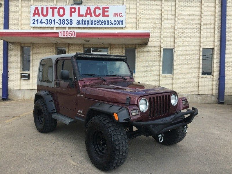 2003 Jeep Wrangler Sport 10,990 Dallas, TX · 99 mi