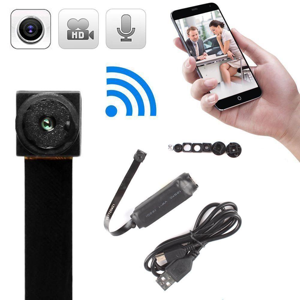 Wireless Spy Nanny Cams WIFI IP DIY Mini Pinhole Hidden Videos Cameras Micro Dvr