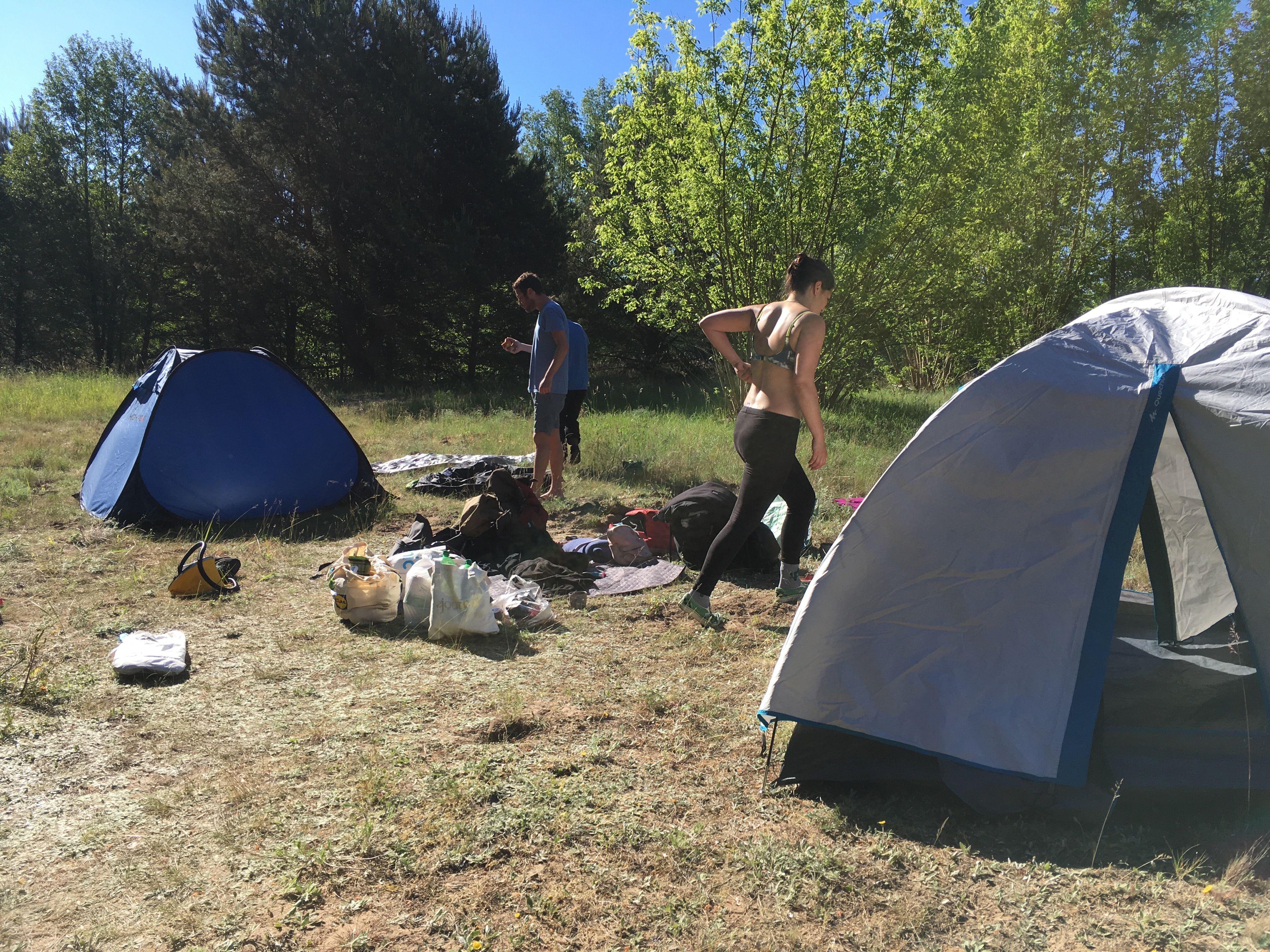 @Wild Camping @Germany   Deutschland, Wild campen, Camping