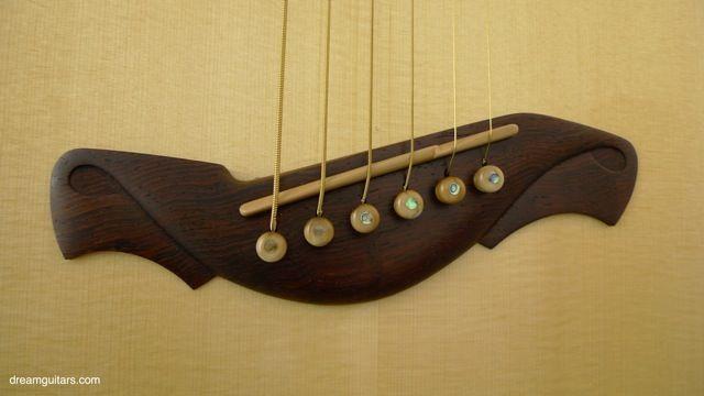 New McConnell SJ Fanfret - Acoustic Guitar - Brazilian Rosewood, Hand Carved Bridge