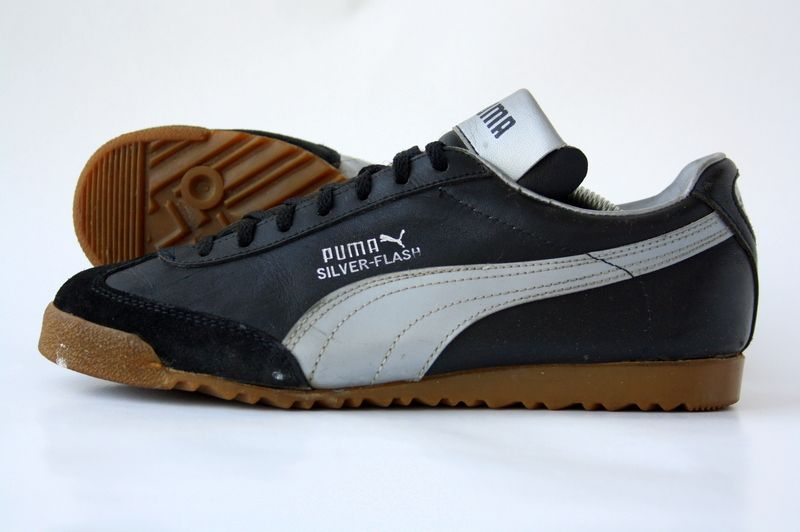 Puma Silver Flash Vintage Sneakers Sneakers Vintage Shoes
