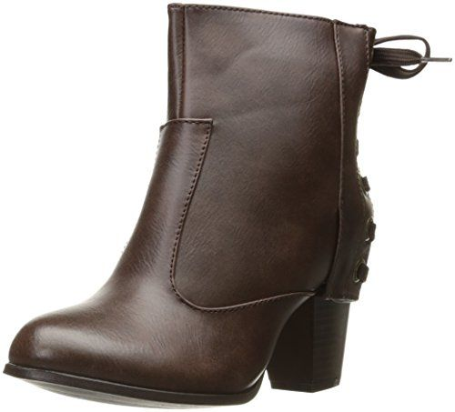 2 Lips Too Women's Scamp Ankle Bootie, Brown, 6.5-$63.96
