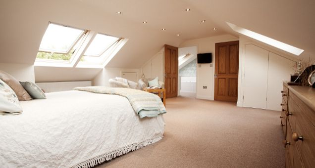 Pin by erica guevara on bedrooms bungalow loft - How to convert a loft into a bedroom ...
