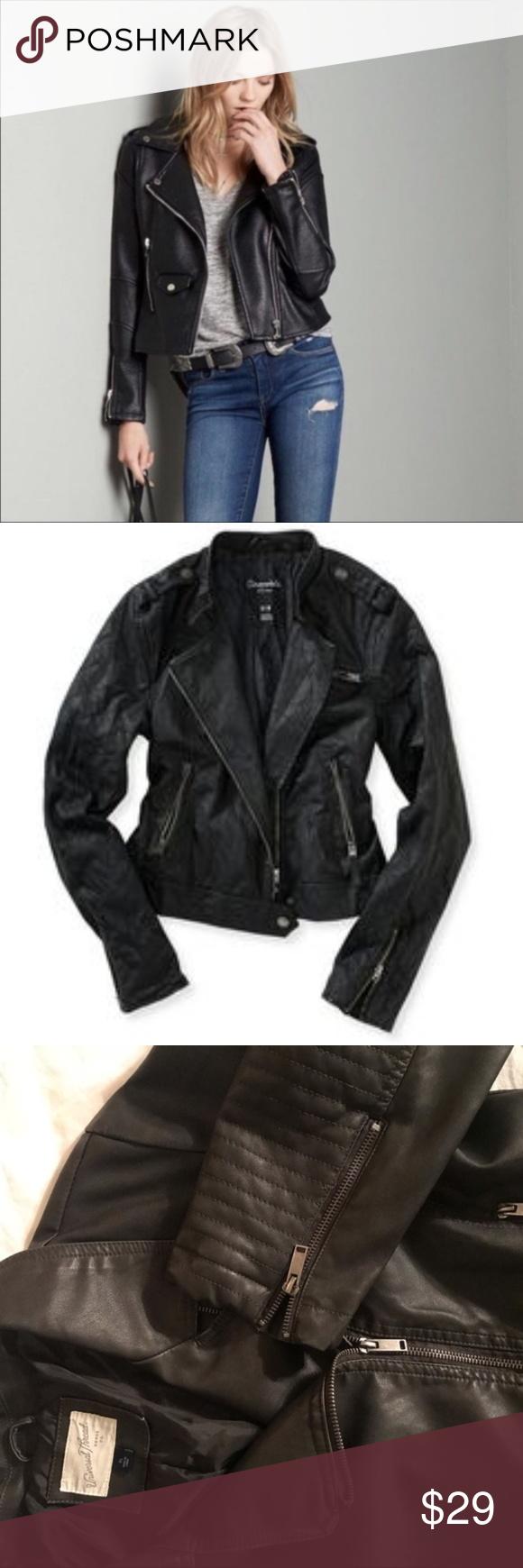 Nwt Asymmetrical Zip Moto Faux Leather Jacket Target Universal Thread Nwt Asymmetrical Zip Moto Faux Leath Faux Leather Jackets Leather Jacket Asymmetrical Zip [ png ]