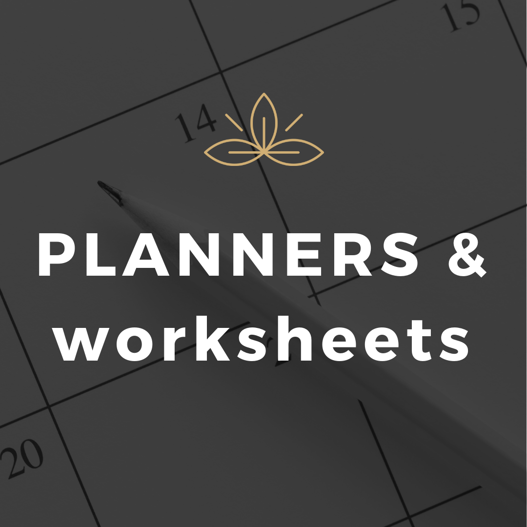 Planners And Worksheets Image By Jaclyn