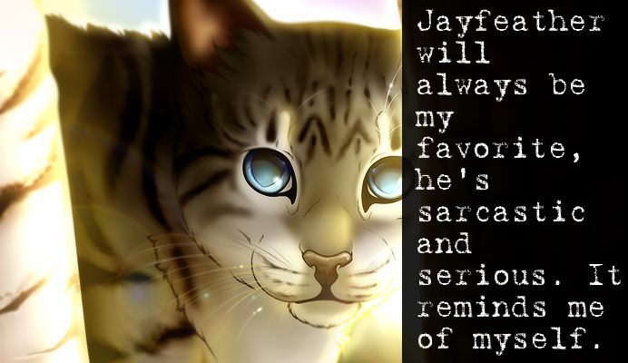 I Love Jayfeather Warrior Cats Books Warrior Cats Warrior Cat