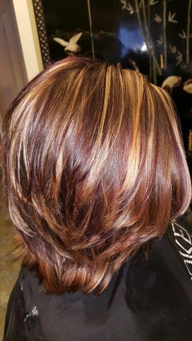 Highlights And Violet Lowlights Hairbyheatherhaynes Heathers