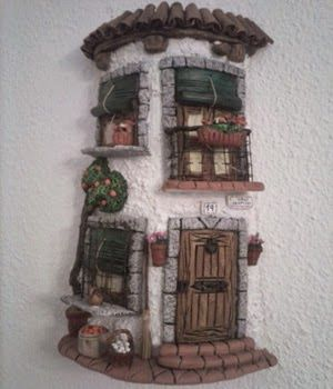 Tejas decoradas buscar con google tejas pinterest - Decorar tejas en relieve ...