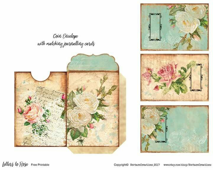 It's just a photo of Crush Junk Journal Printables
