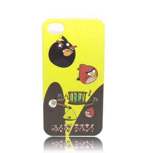 Angry Birds Hard Case Cover Skin for iPhone 4G / 4S (B) - Cases & Skins - iPhone 4/4S - iPhone Accessories