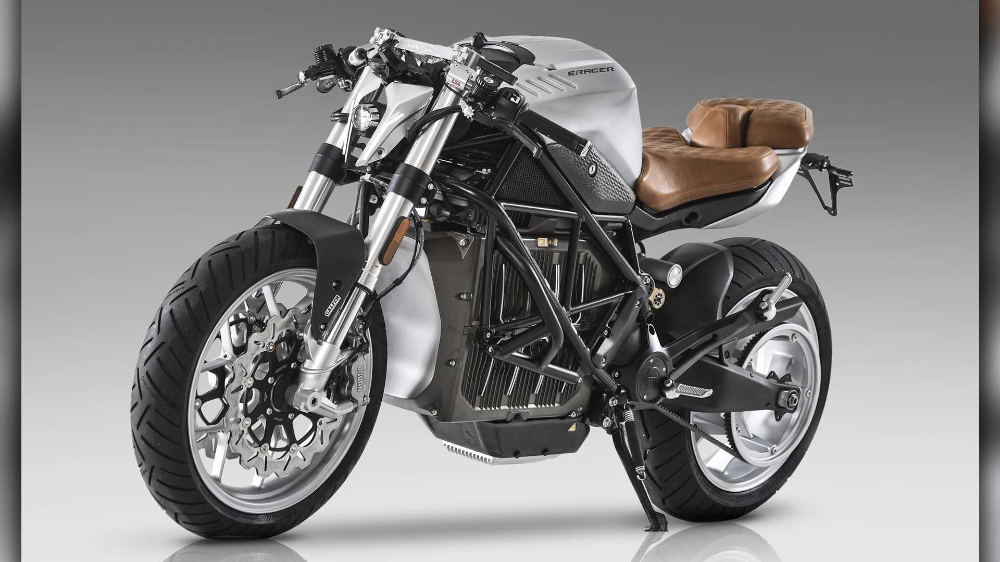 E Racer Motorcycle Turns The Zero Sr F Into A Cafe Racer In 2020